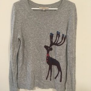 Loft sweater with deer